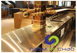 В пищевой промышленности стальной прокат пользуется огромной популярностью.